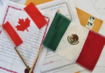 Pen Pals….. desde Ontario hasta London School
